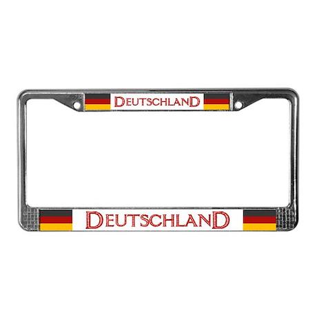 """Germany Flag"" License Plate Frame"