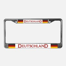 """Germany Flag"" License Plate Frame"