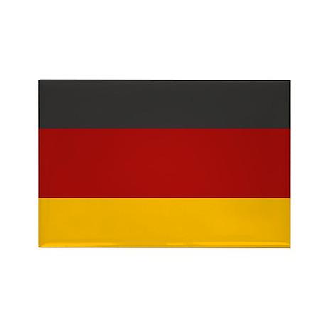 """Germany Flag"" Rectangle Magnet"