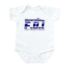 FBI Hawaiian Infant Bodysuit