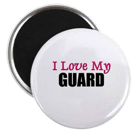 "I Love My GUARD 2.25"" Magnet (10 pack)"