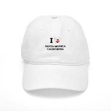 I love Santa Monica California Baseball Cap