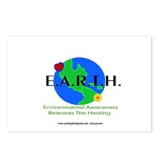 Eco Friendly Messages(magnets Postcards (Package o