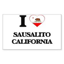 I love Sausalito California Decal