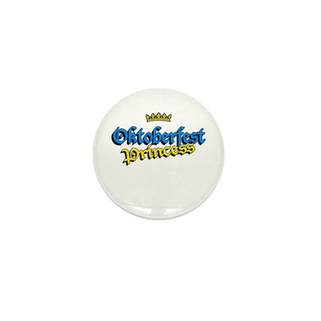 Oktoberfest Princess Mini Button (10 pack)