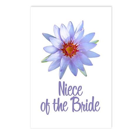 Lotus Bride's Niece Postcards (Package of 8)