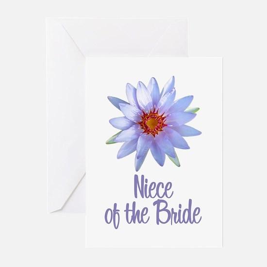 Lotus Bride's Niece Greeting Cards (Pk of 10)