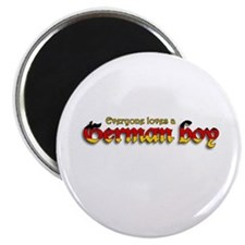 "Everyone Loves a German Boy 2.25"" Magnet (100 pack"