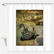 SteamTurtlePirates copy.jpg Shower Curtain