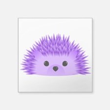 "Redgy the Hedgehog Square Sticker 3"" x 3"""