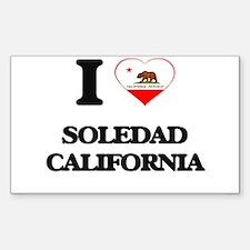 I love Soledad California Decal