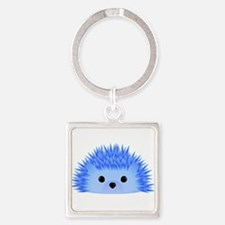 Wedgy the Hedgehog Square Keychain