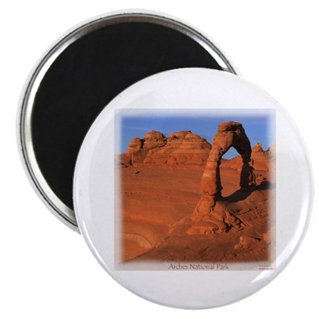 "Delicate Arch 2.25"" Magnet (100 pack)"