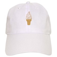 Soft Serve Ice Cream Cone Baseball Baseball Cap