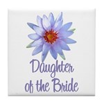 Lotus Bride's Daughter Tile Coaster