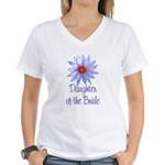 Lotus Bride's Daughter Women's V-Neck T-Shirt