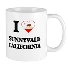 I love Sunnyvale California Mugs