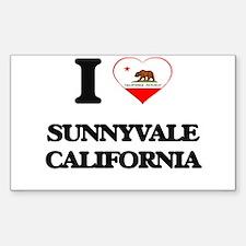 I love Sunnyvale California Decal