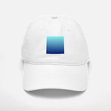 aqua blue ombre Baseball Baseball Cap