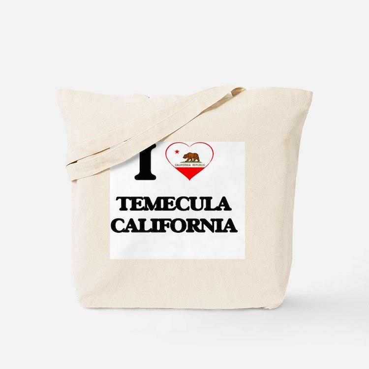 I love Temecula California Tote Bag
