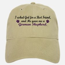 God Gave Me A German Shepherd Baseball Baseball Cap