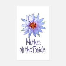 Lotus Bride's Grandma Rectangle Decal