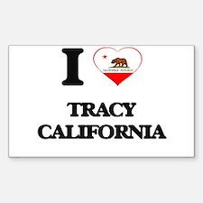I love Tracy California Decal