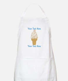 Personalized Ice Cream Cone Apron