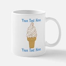Personalized Ice Cream Cone Mug