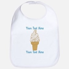 Personalized Ice Cream Cone Bib