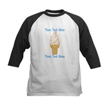 Personalized Ice Cream Cone Tee