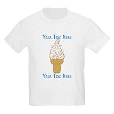 Personalized Ice Cream Cone T-Shirt