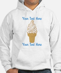 Personalized Ice Cream Cone Hoodie