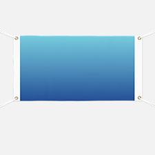 aqua blue ombre Banner