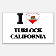I love Turlock California Decal