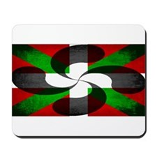 Basque Flag and Cross Mousepad