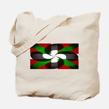 Basque Flag and Cross Tote Bag