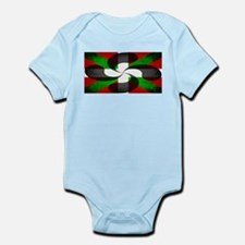Basque Flag and Cross Infant Bodysuit