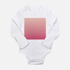 peach pink ombre Body Suit