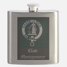 Montgomery Clan Flask