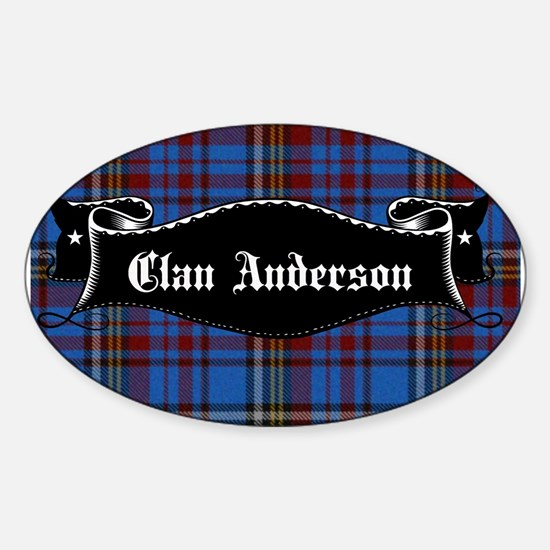 Clan Anderson Banner Decal