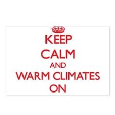 Keep Calm and Warm Climat Postcards (Package of 8)