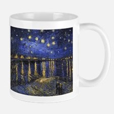 Van Gogh Starry Night Over The Rhone Mugs