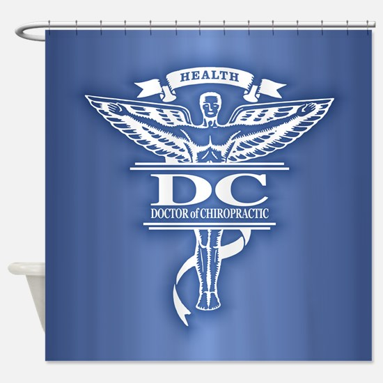 Chiropractic Shower Curtain