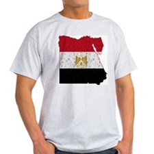 Egypt Flag Map T-Shirt