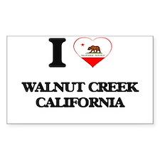 I love Walnut Creek California Decal