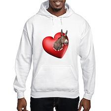 Donkey Heart Hoodie