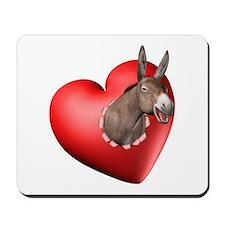 Donkey Heart Mousepad