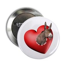 Donkey Heart Button