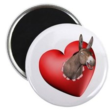 Donkey Heart Magnet